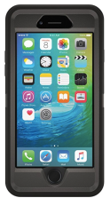 iPhone 6 Plus with ottorbox defender case