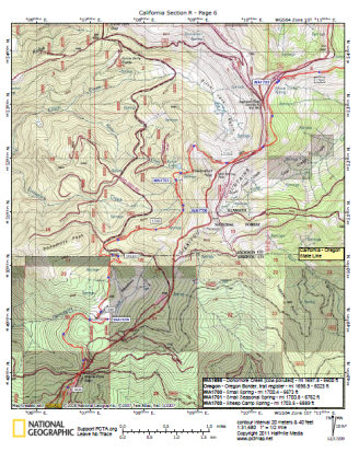halfmile topo maps